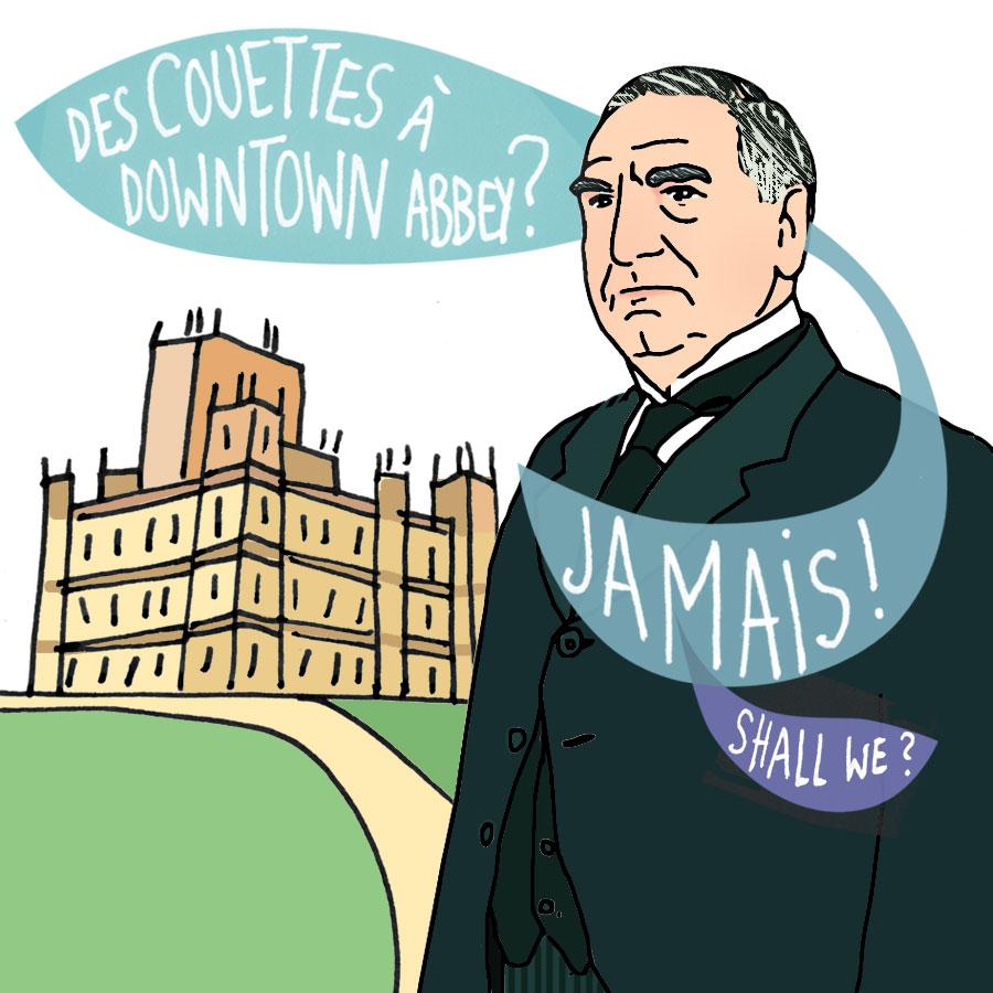 Charles Carson à Downtown Abbey