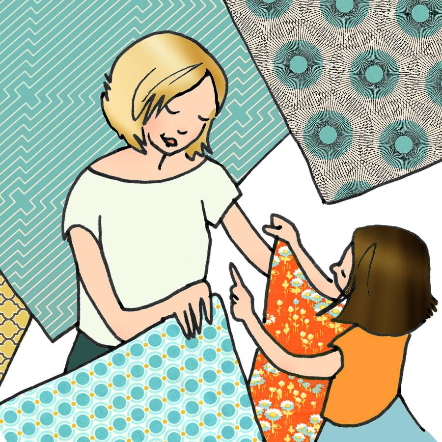 Le choix des tissus