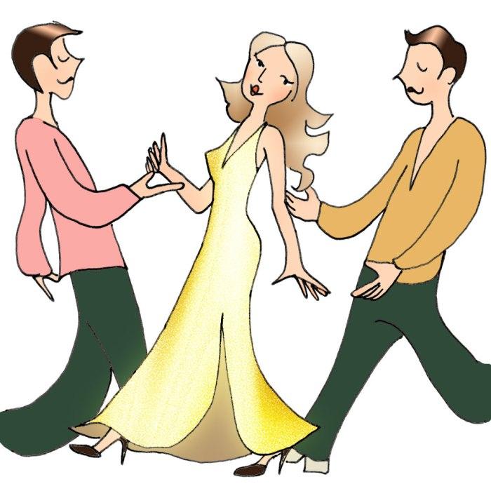 Kaltenopla blog DIY illustration - Dalida et ses danseurs